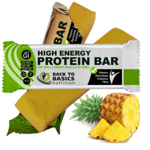 pineapple protein bar