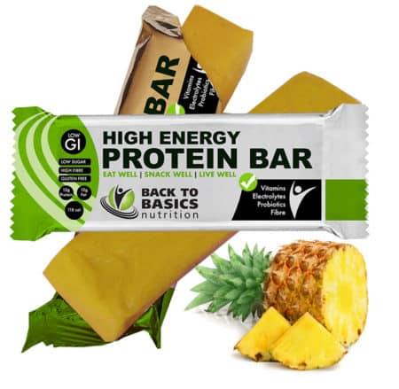 pineapple protein bar