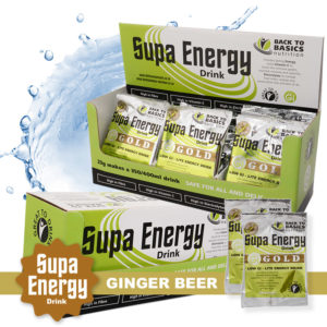 Supa Energy Ginger Beer